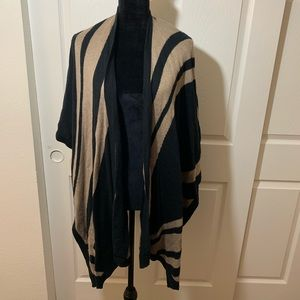 Warm winter poncho Shawl Shrug